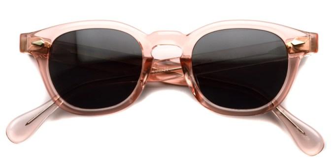 JULIUS TART OPTICAL / AR Sun/ Flesh Pink - Dark Grey Lenses / Bridge : 22mm / ¥39,000+tax