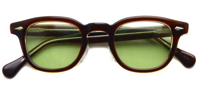 TART OPTICAL ARNEL / JD-04 Sun / 004 BROWN CLEAR - Light Green / ¥38,000 + tax