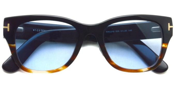 "TOMFORD / TF5379 ""Asian Fit"" / 005 - Light Blue Lenses  /  ¥47,000 + tax"