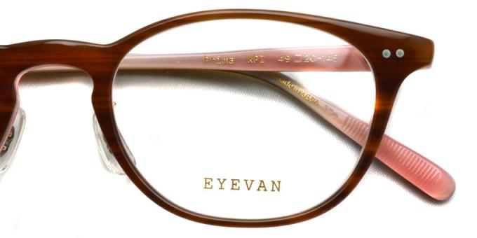 EYEVAN / PRIMA / WPI / ¥27,000+tax