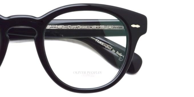 OLIVER PEOPLES / CARY GRANT -OV5413F- /  1492 BLACK  / ¥32,000 + tax