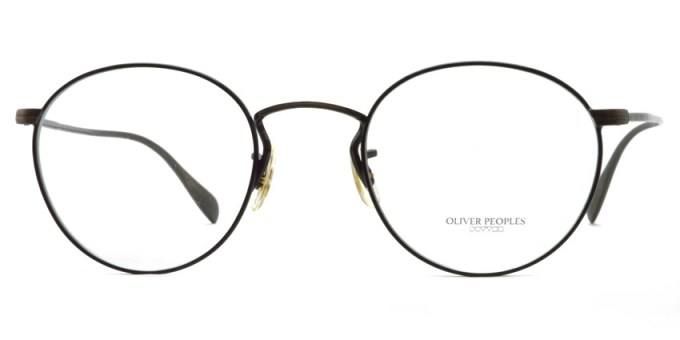 OLIVER PEOPLES / COLERIDGE -OV1186- / 5296 NEW ANTIQUE GOLD/BLACK / ¥29,000 +tax