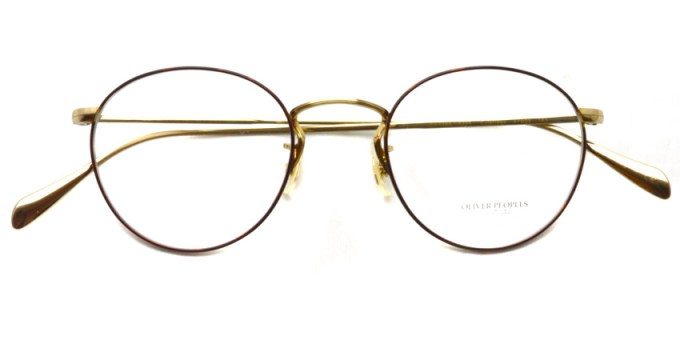 OLIVER PEOPLES / COLERIDGE -OV1186- / 5295 SOFT GOLD/AMBER DTBK FOIL / ¥29,000 +tax