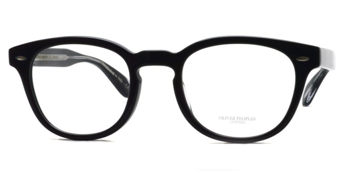 OLIVER PEOPLES / SHELDRAKE(A) OV5036A / 1492 BLACK / ¥30,000 + tax