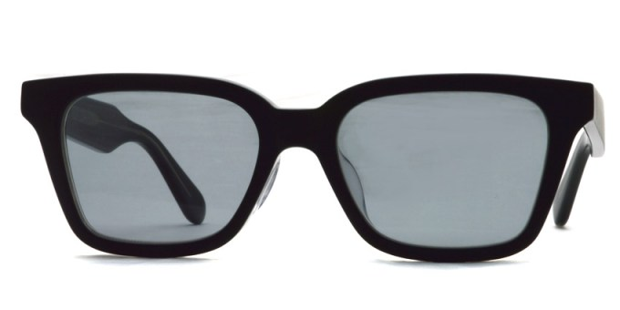 A.D.S.R. / NAVARRO05 / Matte Black & Clear Black - Light Gray Lenses / ¥18,000 + tax