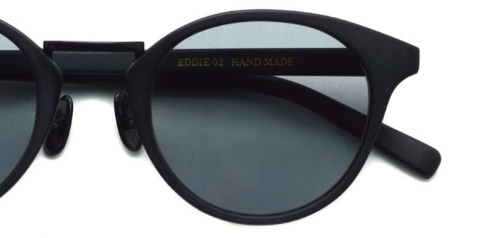 A.D.S.R. / EDDIE02 / Matte Black - Light Gray / ¥18,000 +tax