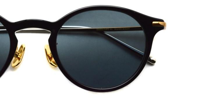 A.D.S.R. / SHELLEY01 / Shin Black- Gold & Silver - Black Lenses / ¥19,000 + tax