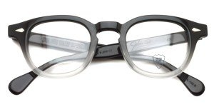 JULIUS TART OPTICAL / AR / bridge : 24mm / Black Clear Fade / ¥37,000+tax