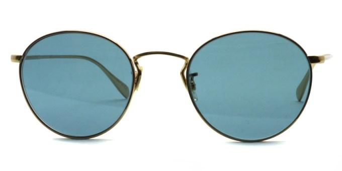OLIVER PEOPLES / COLERIDGE SUN -OV1186S- / 514556  GOLD - Blue Lenses / ¥31,000 +tax