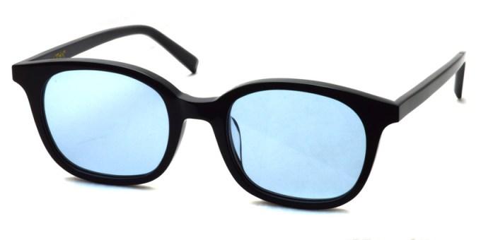 A.D.S.R. / MONK01(d) / Shiny Black - Light Blue Lenses / ¥18,000 + tax