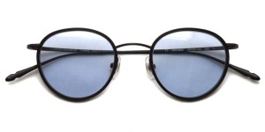 CLAYTON FRANKLIN / 606 Sun / MBK/MBK - Light Blue Purple Lenses / ¥33,000 + tax