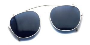 JULIUS TART OPTICAL / AR Clip On / Silver- BL16 / ¥20,000 +tax
