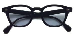 JULIUS TART OPTICAL / AR / bridge : 22mm / BLACK - Light Gray Lenses / ¥40,000+tax