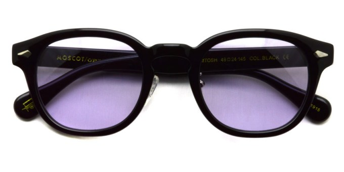 MOSCOT / LEMTOSH MP Sun / BLACK - Light PURPLE / ¥34,000 + tax