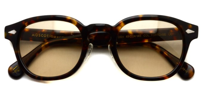 MOSCOT / LEMTOSH MP Sun / TORTOISE - Light BROWN / ¥34,000 + tax