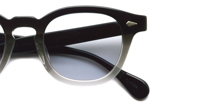 JULIUS TART OPTICAL / AR / Black Clear Fade - Light Gray Lenses / ¥40,000+tax