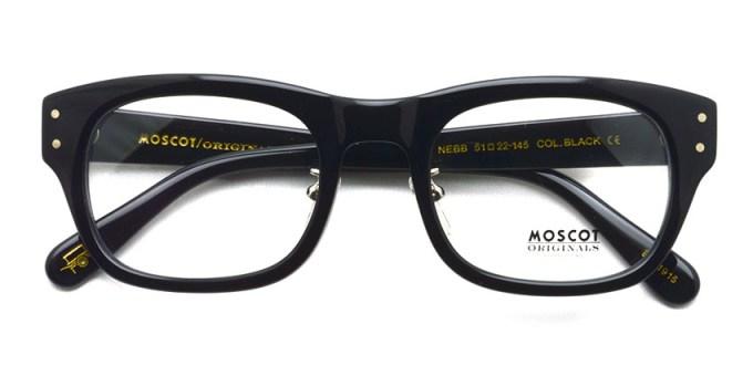 MOSCOT / NEBB MP / BLACK / ¥31,000 + tax
