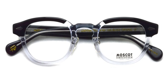 MOSCOT / LEMTOSH w/ METAL NOSE PADS / BLACK/CRYSTAL / ¥31,000+tax