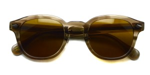 MOSCOT / LEMTOSH Sun w/ METAL NOSE PADS / BROWN ASH - C.BROWN / ¥34,000+tax
