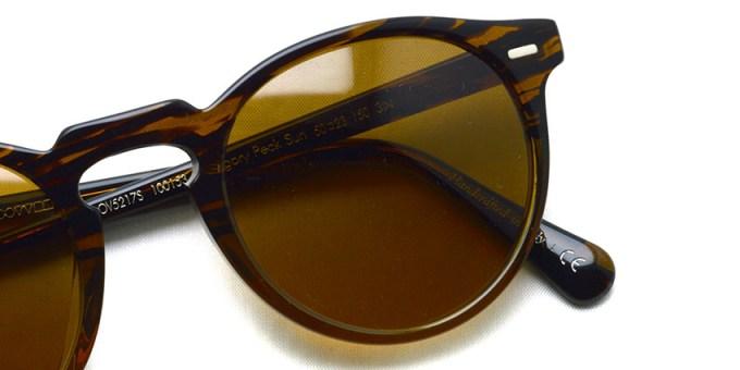 OLIVER PEOPLES / GREGORY PECK SUN -OV5217S- / 100153 TORTOISE(8108) - Dark Brown Lenses / ¥30,000 +tax
