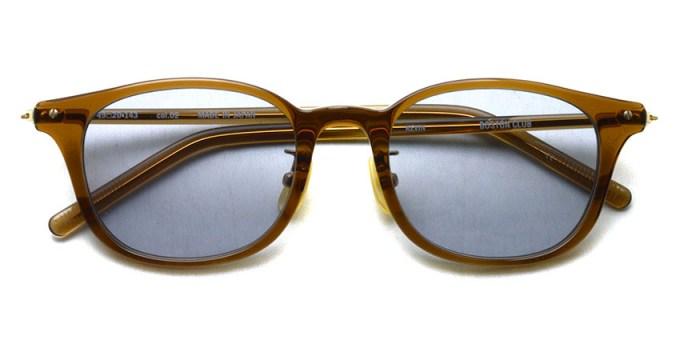 EYEVAN / KEVIN SG / 02 Brown-Gold - Light Gray Lenses / ¥26,000+tax