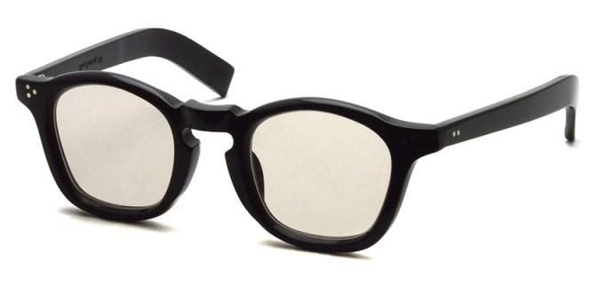 guepard / gp-05 / noir / Light Brown Flat Lenses / ¥27,000+tax
