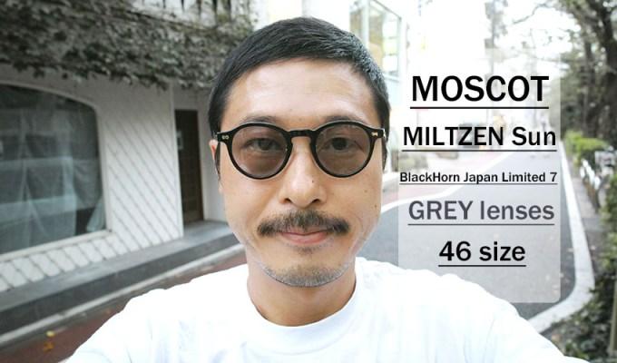 MOSCOT / MILTZEN SG / BKBH Japan LimitedⅦ / ¥35,000 + tax