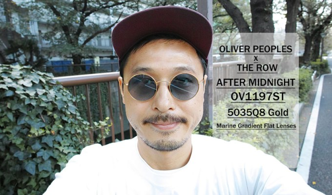 OLIVER PEOPLES THE ROW / AFTER MIDNIGHT - OV1197ST - / 5035Q8 GOLD - Marine Gradient / ¥40,000 + tax