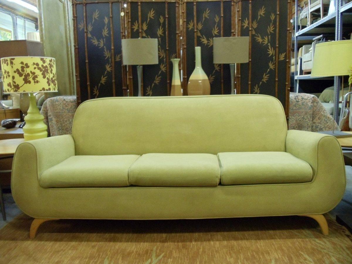 Sofa Modern Chatruese Lime Green Three Psw