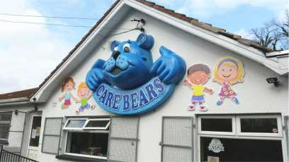 Care Bear Sign