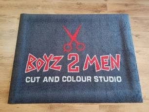 Boyz 2 Men logo mat 1