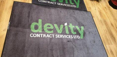 Devity logo mat 1