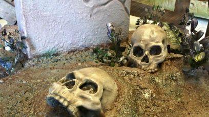Halloween display 1