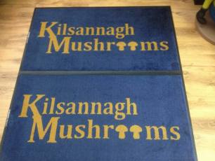 Kilsannagh mushrooms logo mat 2