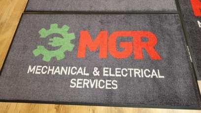 MGR logo mat 1