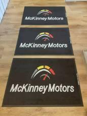 McKinney Motors logo mats