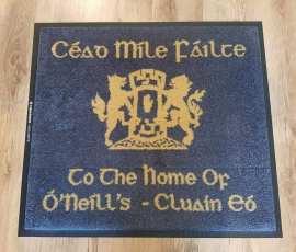 O'Neill family crest mat 1