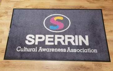 Sperrin cultural logo mat 1
