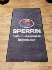 Sperrin cultural logo mat 2