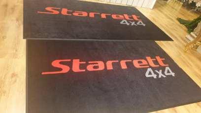 Starretts 4x4 logo mats 1