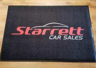 Starretts Cars logo mats 1