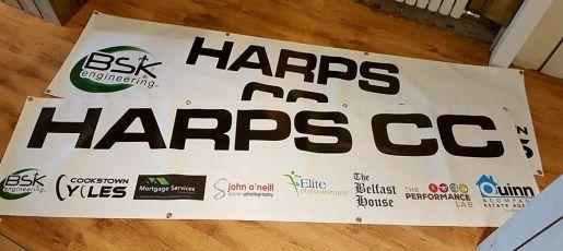 Harps CC banners 1