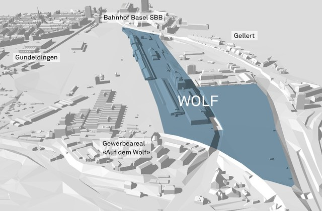Smart City Wolf in Basel