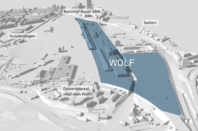 Smart City Wolf in Basel