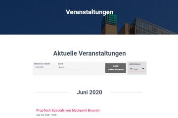 proptechnews.ch Kalender