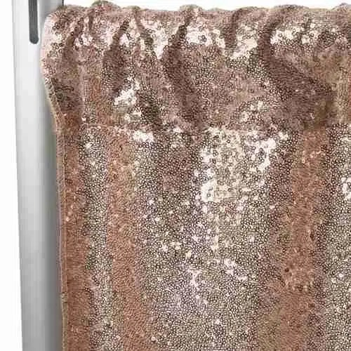 Sequin Backdrop Tall - Champagne 1