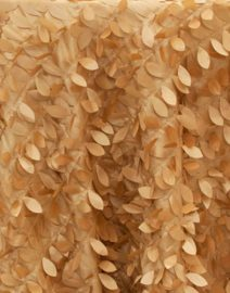Leaf Petal Backdrop Gold