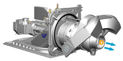 Hydrojet explication turbine