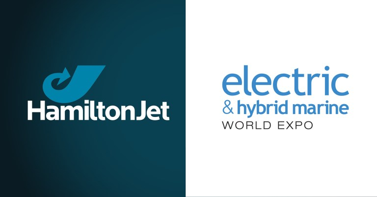 HamiltonJet, exposant au salon Electric & Hybrid marine world expo 2020