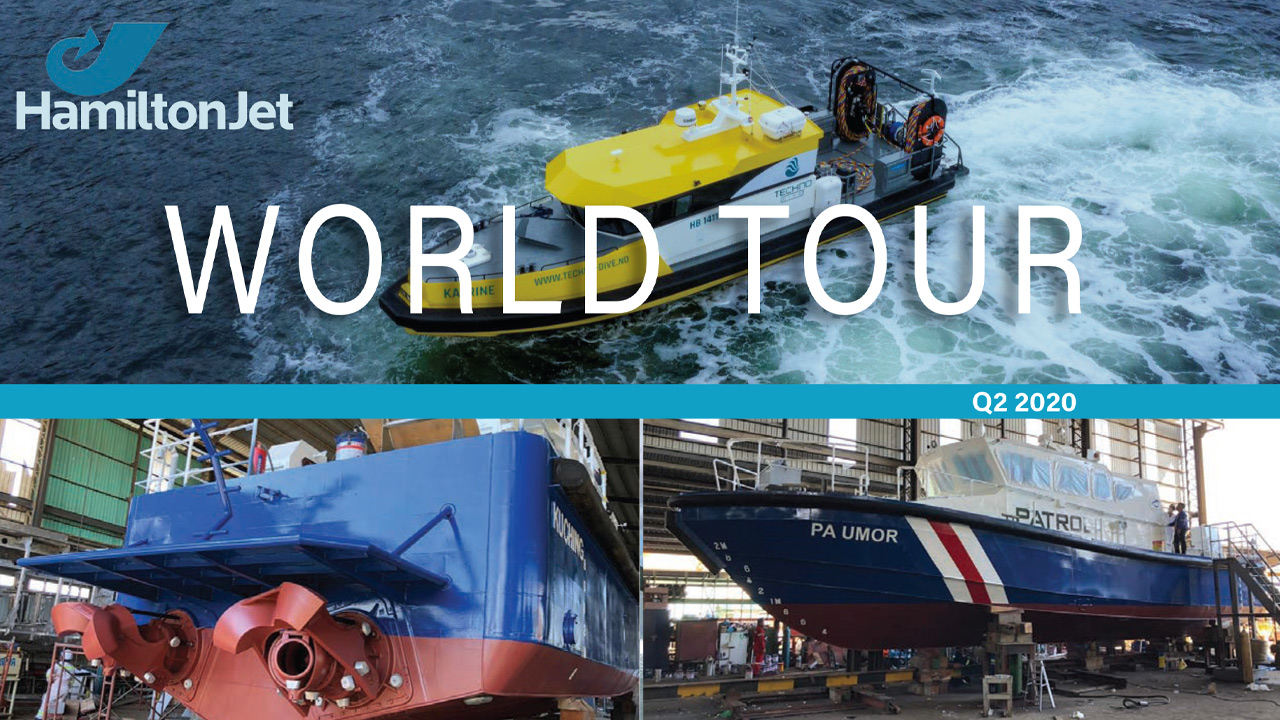 """""""World Tour"""" HamiltonJet - Q2 2020"""